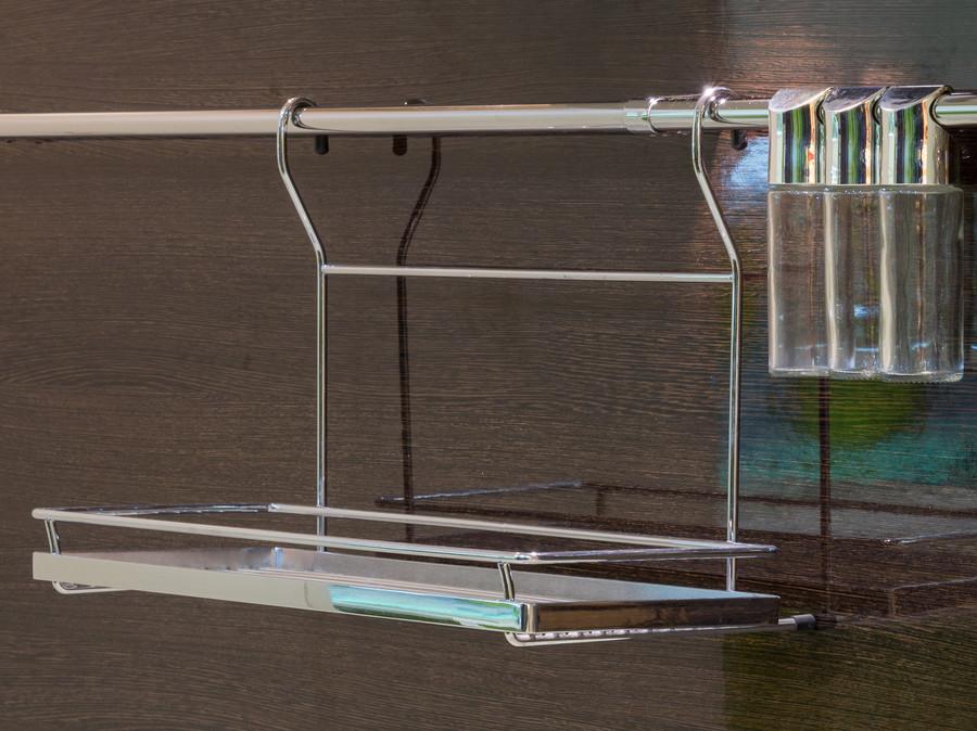 Купить зеленую кухню-Кухня из пластика «Модель 55»-фото7