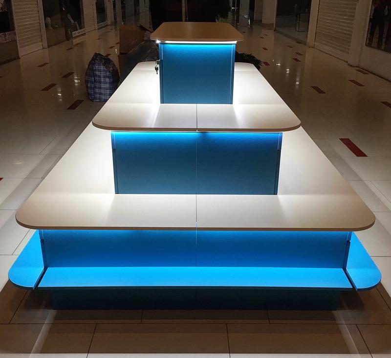 Торговая мебель-Торговый островок «Модель 259»-фото2