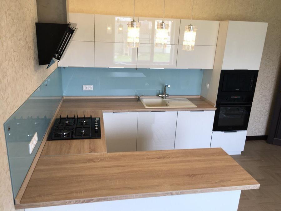 Акриловые кухни-Кухня из акрила «Модель 470»-фото3