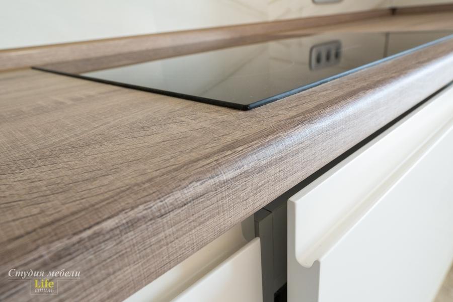 Белый кухонный гарнитур-Кухня из ЛДСП «Модель 424»-фото10