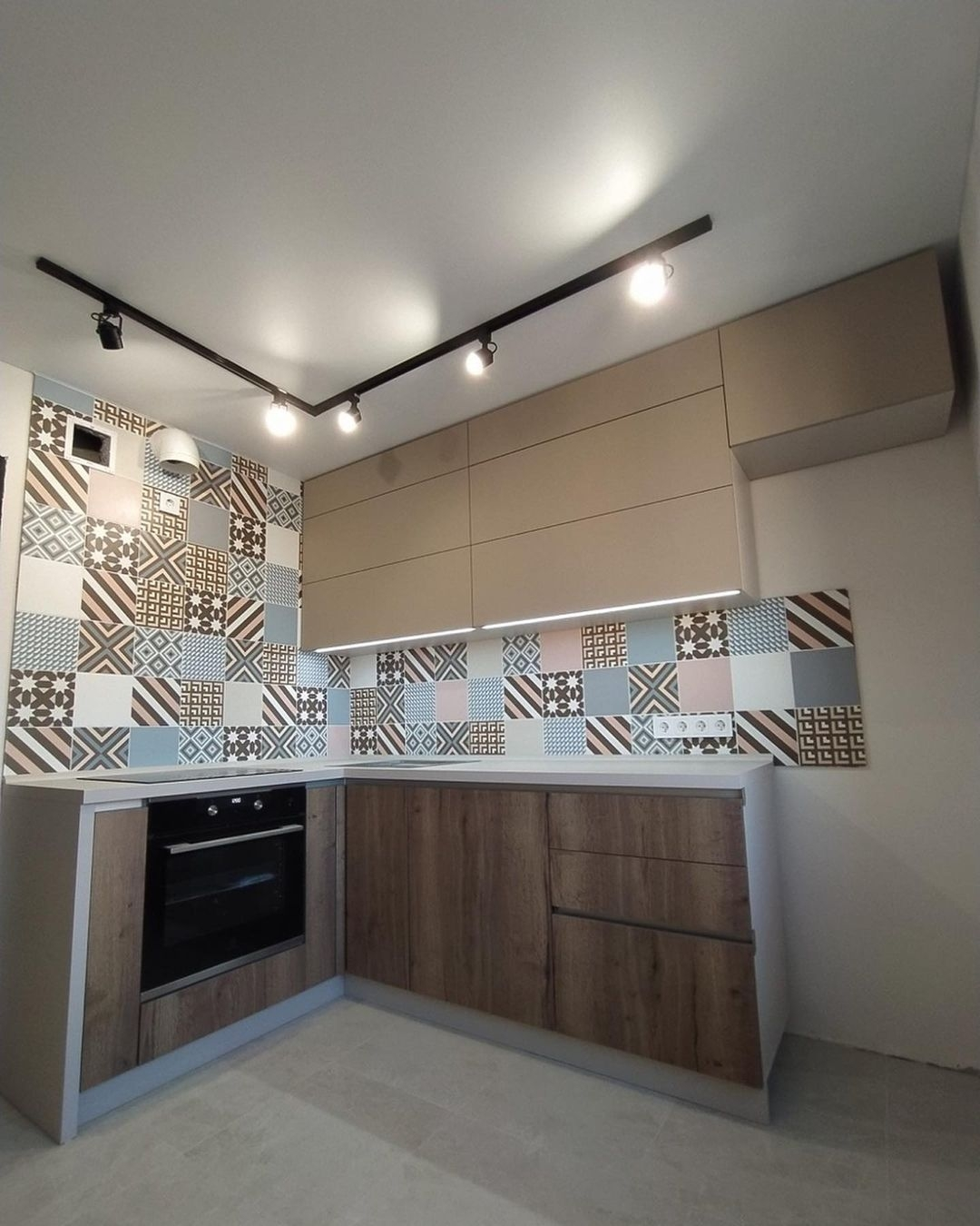 Купить кухню-Кухня из ЛДСП «Модель 621»-фото1