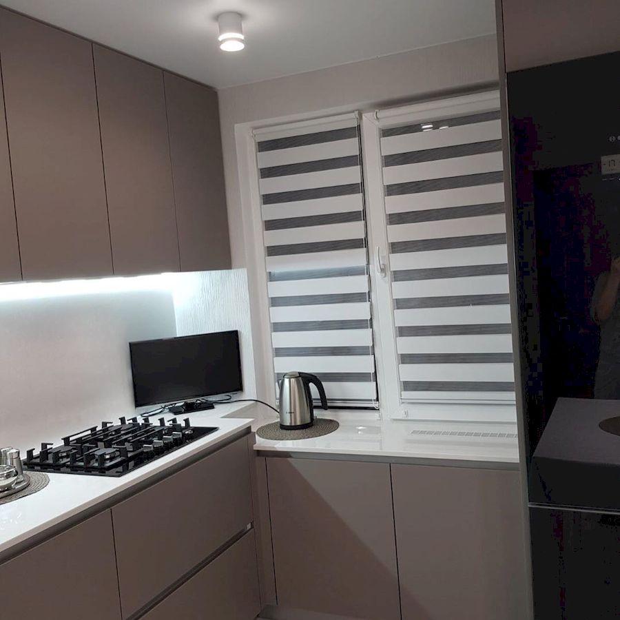 Встроенная кухня-Кухня МДФ в ПВХ «Модель 659»-фото5