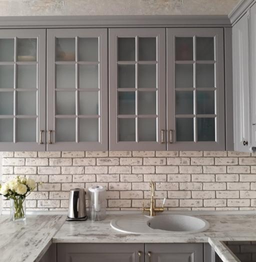 -Кухня МДФ в эмали «Модель 281»-фото9