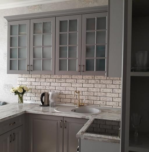 -Кухня МДФ в эмали «Модель 281»-фото14