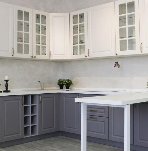 -Кухня МДФ в ПВХ «Модель 282»-фото8