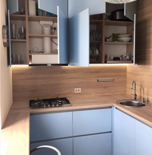 -Кухня МДФ в ПВХ «Модель 37»-фото5