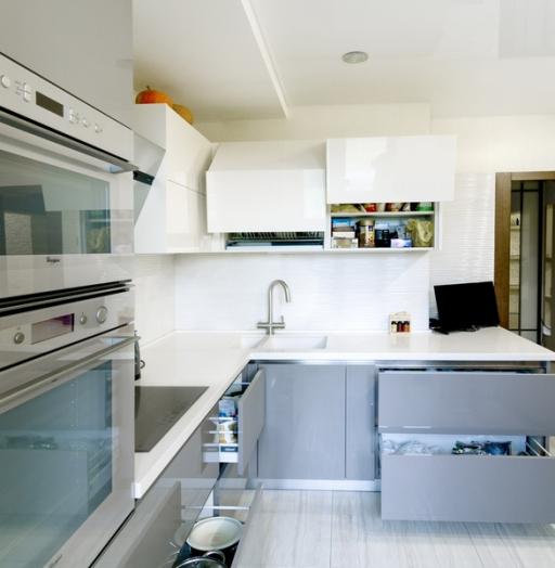 -Кухня из акрила «Модель 411»-фото27