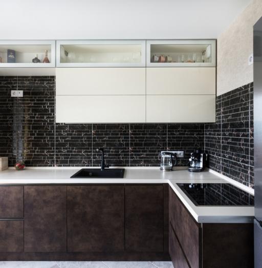 Акриловые кухни-Кухня из акрила «Модель 412»-фото4