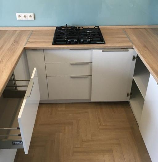 Акриловые кухни-Кухня из акрила «Модель 470»-фото8