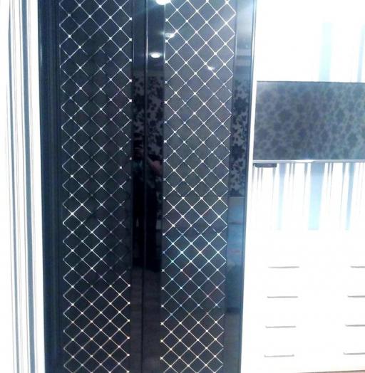 Бельевой шкаф-купе-Шкаф-купе с зеркалом «Модель 285»-фото4