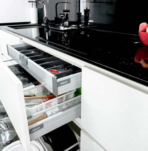 -Кухня из пластика «Модель 343»-фото19