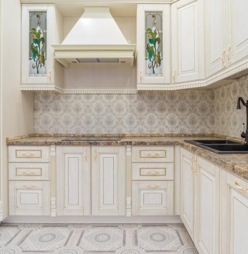 -Кухня из шпона «Модель 8»-фото1