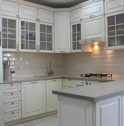 -Кухня МДФ в ПВХ «Модель 154»-фото14