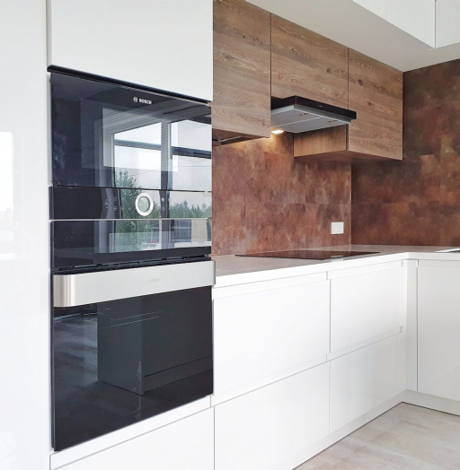 -Кухня МДФ в эмали «Модель 533»-фото19