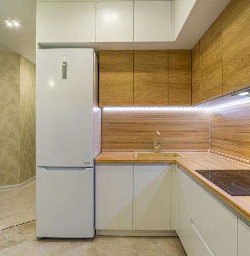 -Кухня МДФ в эмали «Модель 556»-фото24