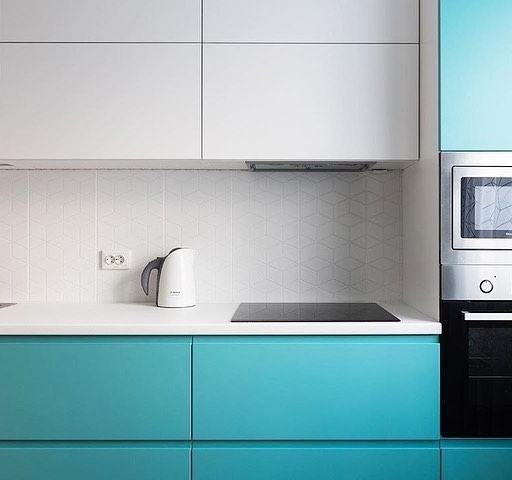 -Кухня МДФ в эмали «Модель 584»-фото16